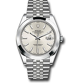 Rolex Oyster Perpetual Datejust 126300 SIJ Stainless Steel 41mm Mens Watch