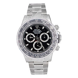 Rolex Cosmograph Daytona 116500 LN BK Ceramic Bezel 40mm Watch