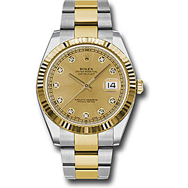 Rolex Oyster Perpetual Datejust 126333 CHDO Stainless Steel and 18K Yellow Gold 41mm Mens Watch