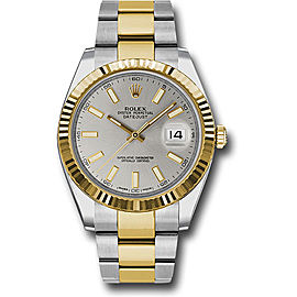 Rolex Oyster Perpetual Datejust 126333 SIO Stainless Steel and 18K Yellow Gold 41mm Mens Watch