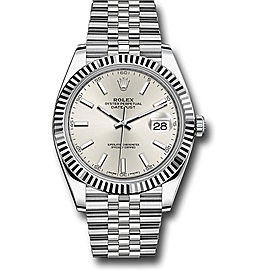 Rolex Oyster Perpetual Datejust 126334 SIJ Stainless Steel 41mm Mens Watch