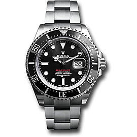 Rolex Oyster Perpetual Sea-Dweller 126600 Stainless Steel Ceramic Bezel 43 mm Mens Watch