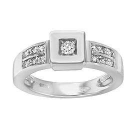 Saya 18K White Gold with 0.24ctw Diamond Ring Size 7.25