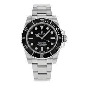 Rolex Oyster Perpetual Submariner 114060 40mm Mens Watch