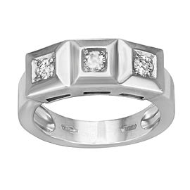 Saya 18K White Gold with 0.75ctw Diamond Ring Size 7.5