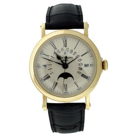 Patek Philippe Grand Complications 5159J Perpetual Calendar 18K Yellow Gold Watch