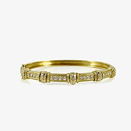 Doris Panos Constantine 18k Yellow Gold Diamond Bracelet