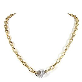 Roberto Coin Appassionata 18k Yellow Gold Diamond Necklace