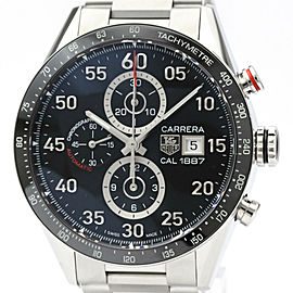 TAG HEUER Carrera Calibre 1887 Chronograph Steel Watch CAR2A10