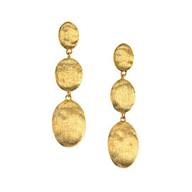 Marco Bicego Siviglia 18k Yellow Gold Triple Drop Earrings