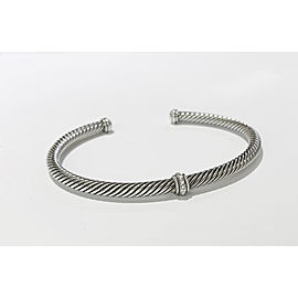 David Yurman Cable Classic Center Station Bracelet with Diamonds