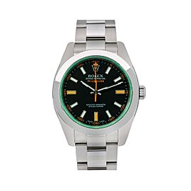 Rolex Milgauss 116400V 40mm Mens Watch