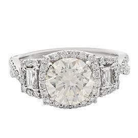 Platinum Diamond unity ring (EGL USA CERTIFIED)