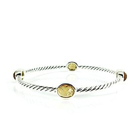 David Yurman Color Classic Sterling Silver Citrine Bracelet