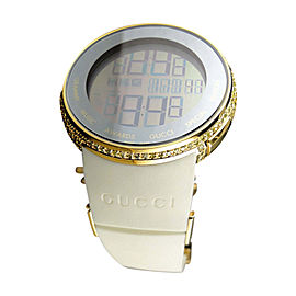 Gucci I YA114216 Grammy Edition Digital Yellow Diamond Mens Watch