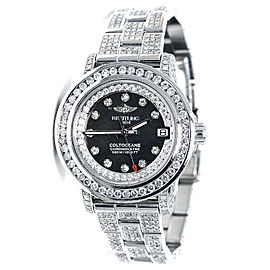 Breitling Aeromarine Colt Oceane 33 Diamond A77387 13.5 Ct Ladies Watch