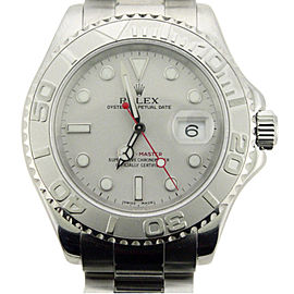 Rolex Yachtmaster 16622 40mm Stainless Steel Platinum Watch