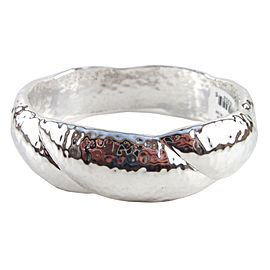 Ippolita 925 Sterling Silver Glamazon Twisted Bangle Bracelet