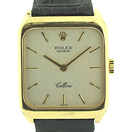 Rolex Cellini 4131 24mm Womens Watch