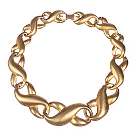 Givenchy Figure Eight Eternity Love Knot Necklace