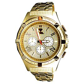 Aqua Master Jojo Joe Rodeo Yellow Gold 47 MM W#349 Genuine Diamond Watch