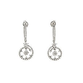 Roberto Coin 18K White Gold with Diamonds Earrings