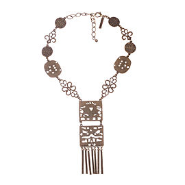 Oscar De La Renta Tassel Necklace