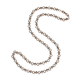 Givenchy Circular Link Chain Necklace