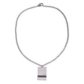 Dolce & Gabbana Dog Tag Necklace