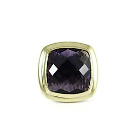 David Yurman Albion Sterling Silver Amethyst Ring