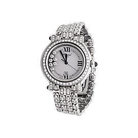 Chopard Happy Sport 27/8236-23 7.5 Ct Diamond Womens 30 mm Watch