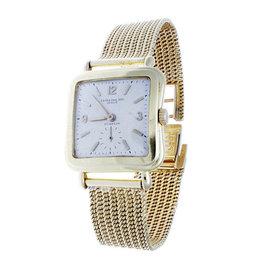 Rare Vintage Patek Philippe 2493 Vintage 18K Yellow Gold Watch And Bracelet