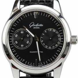 Glashutte Original Quintessentials Senator Hand Date Automatic 40mm Watch