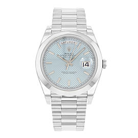 Rolex Day-Date President 228206 950 Platinum Automatic Mens Watch