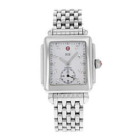 Michele Deco-16 MWW06V000002 Stainless Steel Quartz Womens Watch