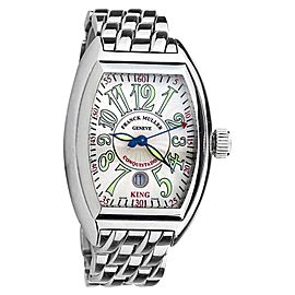 Franck Muller 8005 SC KING Steel Automatic Mens Watch