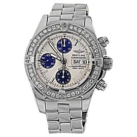 Breitling Super Ocean A13340 Stainless Steel Automatic Diamond Men's Watch