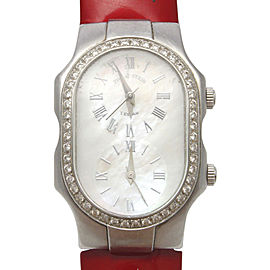 Philip Stein 1LF002648 Stainless Steel Diamond Quartz 40.26 mm Womens Watch