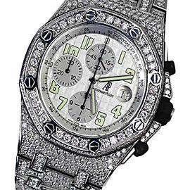 Audemars Piguet Royal Oak Offshore 18K White Gold 44mm Unisex Watch