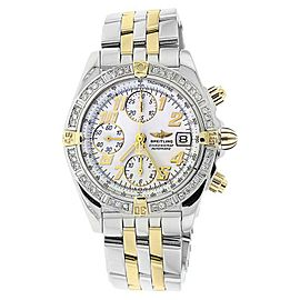 Breitling B13050 18K Yellow Gold & Stainless Steel Diamond 38mm Watch