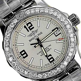 Breitling Colt Stainless Steel 33mm Womens Watch