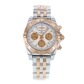 Breitling Chronomat CB014012.A722TT Steel & Rose Gold Automatic 41mm Mens Watch