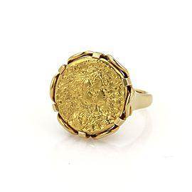Piaget Salvador Dali 22K & 18K Yellow Gold Ring Size 6