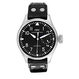 IWC Big Pilots 46mm Black Dial Automatic Steel Mens Watch IW500401