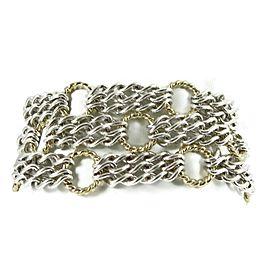 David Yurman Sculpted Cable Sterling Silver Bracelet
