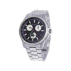 f89446b967b Gucci G-Timeless YA126267 Stainless Steel 44mm Mens Watch