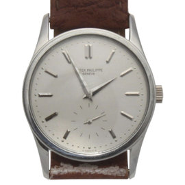Patek Philippe Calatrava Platinum 3796 Manual 31mm Unisex Watch