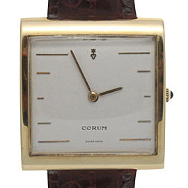 Corum Buckingham 18K Yellow Gold Quartz 36mm Unisex Watch