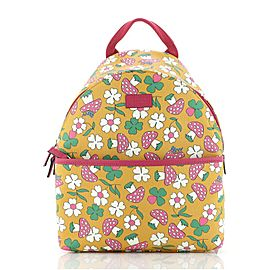 Gucci Children's Zip Backpack Printed GG Coated Canvas Small