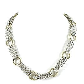 David Yurman Chain Sterling Silver Necklace